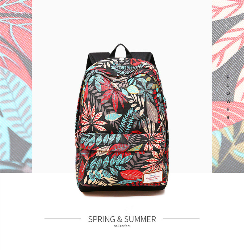 HTB136GsQNnaK1RjSZFtq6zC2VXao - Hot USB Charging Laptop Women's Backpack For Teenage Students Girls School Backpack Printing Female Travel Bagpack