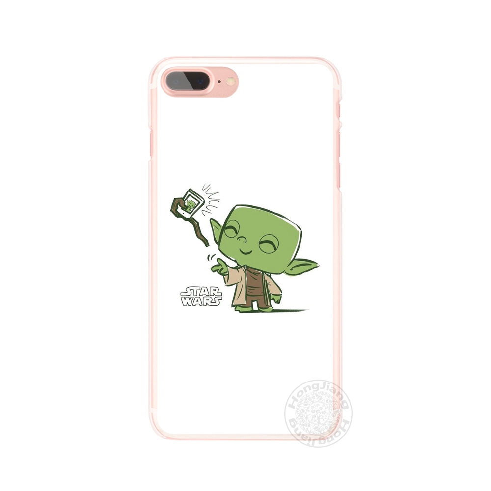 Cases Star Wars R2D2 Darth Vader Stormtrooper Boba Fett Cell Phone Cover  Iphone 6 4 4S 5 5S SE 5C 6S 7 8 X Plus