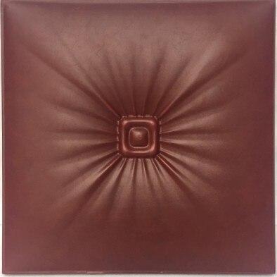nuevos paneles acsticos panel d panel de pared de cuero de la pu de cuero de cuero sala sof backgroumd papel pintado