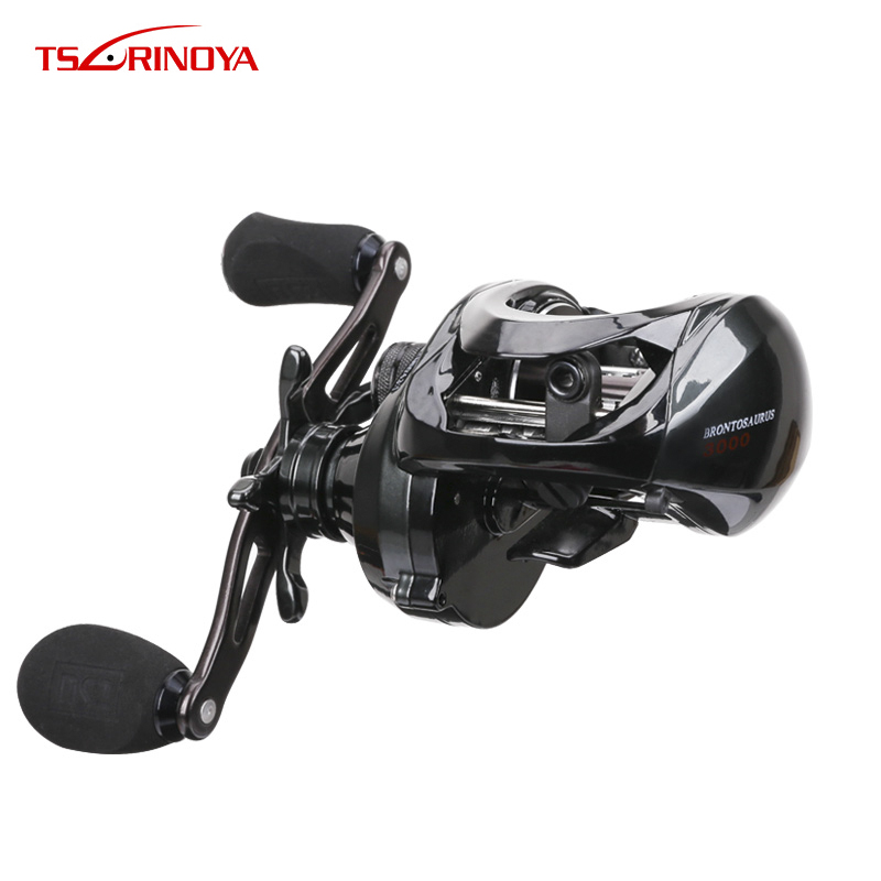 Tsurinoya BRONTOSAURUS 3000 Size Baitcasting Reel 9+1 BB 6.3:1 Bait Casting Fishing Reel Aluminum Alloy Light Weight Spool Tsurinoya BRONTOSAURUS 3000 Size Baitcasting Reel 9+1 BB 6.3:1 Bait Casting Fishing Reel Aluminum Alloy Light Weight Spool