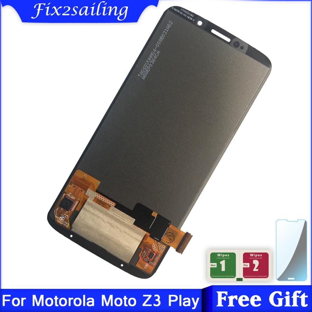 For Motorola Moto Z3 Play LCD Display Touch Screen Digitizer Assembly Replacement For Moto Z3 Play XT1929 XT-1929 LCD
