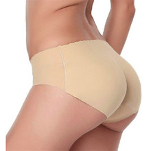 Shocking Show Fashion Lady Padded Seamless Butt Hip Enhancer Shaper Panties Underwear