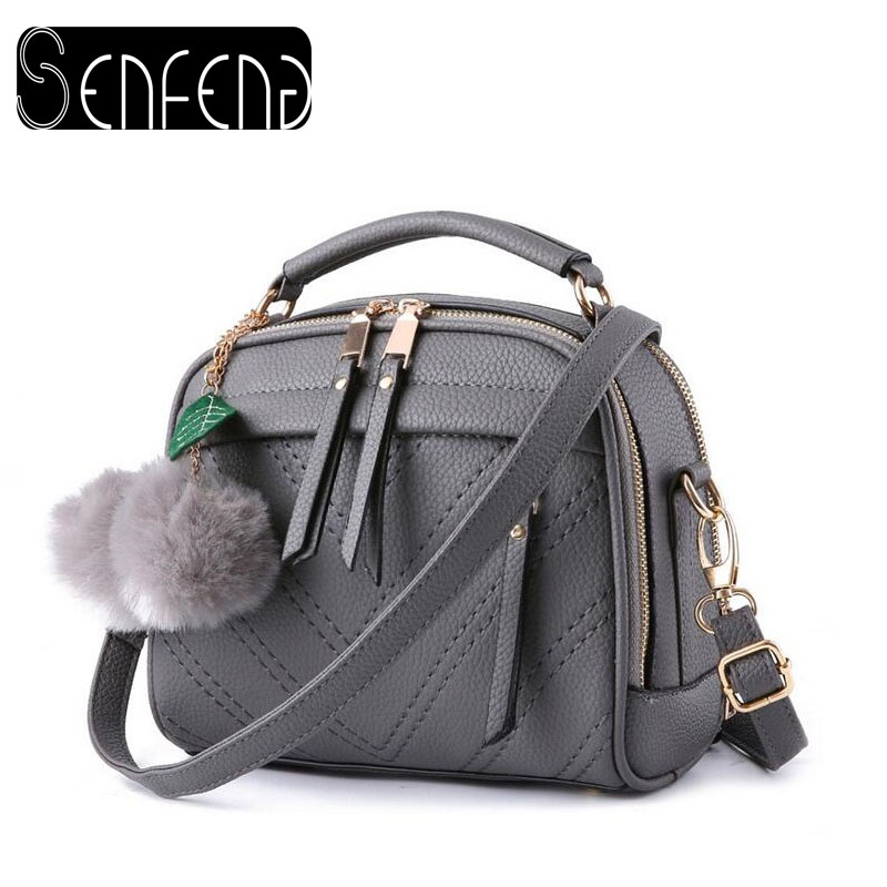 New Arrival Knitting Women Handbag Fashion PU Lether Shoulder Bags Small Casual