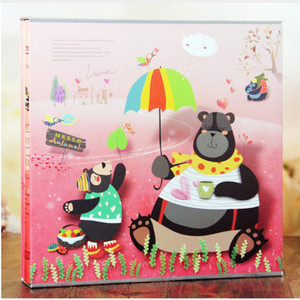 Image 4 - 640 Sheets Photo Album with Gift Box General Interleaf Type Children Photo Album Transparent PVC Pages for 5 6 7 8 Inch Picture