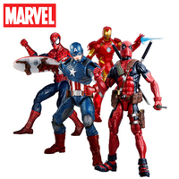 Original Marvel Toys 12 inch legendary character series, deadpool iron man collection Model Toys For Children