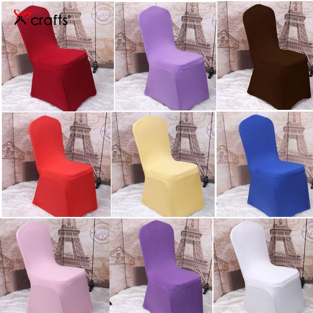 Wedding ceremony chair - Ppcrafts Spandex Chair Cover Bows Back Flowers Decorative Butterfly Free Wedding Ceremony Banquet Bandages 10pcs