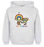Unisex Fashion Death Metal Music Heavy Unicorn Rainbow Design Hoodie Men S Boy S Women S