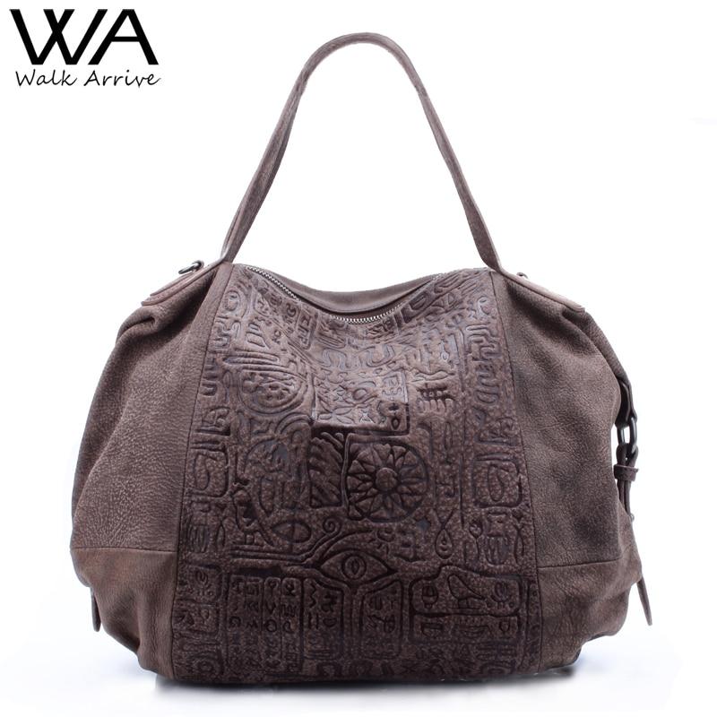 Walk Arrive Genuine Leather Women