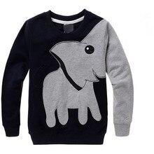 Elephant Printed Long Sleeve Long Sleeve TShirts