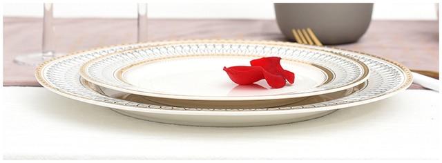 HTB136IbLhnaK1RjSZFBq6AW7VXal.jpg 640x640 - dinnerware - Nordic Gold Bead Glass  Wedding Plates