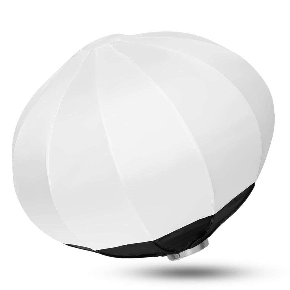 50/65/80cm Collapsible Sphere Softbox Paper Lantern Ball Shape Reflector Diffuser w/ Bowens Mount for godox Studio Flash Strobe