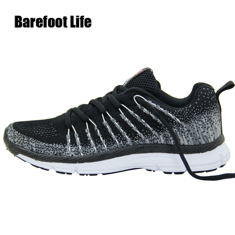 black colors ,flywite upper women & man sneakers 2018,comfortable,breathable sport running walking shoes,zapatillas,schuhes,