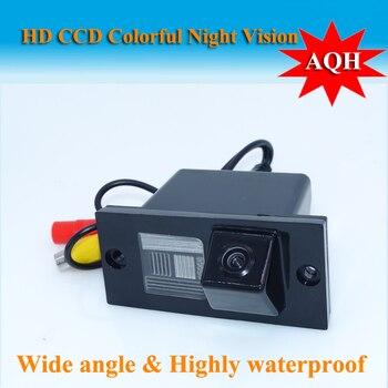 цена на Night vision waterproof car rear view camera buckup reversing color camera for HYUNDAI H1 GRAND STAREX