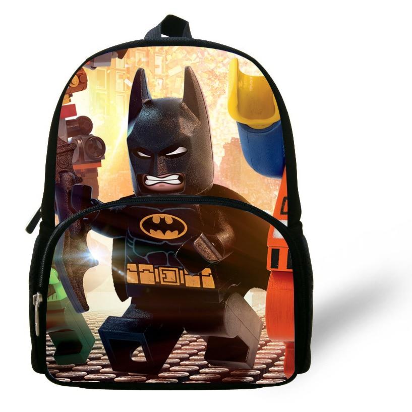 Рюкзак бэтмен от 3 лет рюкзаки в школу для подростков не тонкие