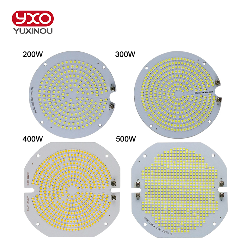 100W 150W 200W 300W 400W 500W High Quality LED Chip PCB Module Bulb Panel For LED High Bay Industrial Flood Sports Stadium light