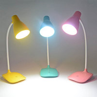 Dimmable LED Desk Table Lamp Light LED With Battery 1200mAh Adjustable USB Rechargeable For Student Lamp