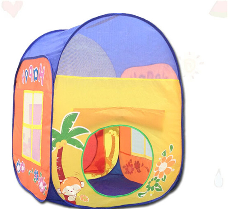 Funny Kids Tent Play House Indoor Outdoor Toys, Novelty Large Play Tents for Kids Birthday Present