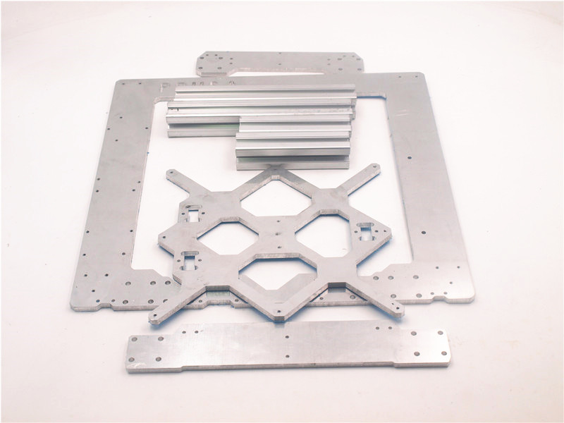 1Set Aluminium alloy Prusa i3 MK3 frame kit With M5 Tapped Extrusions 6mm thickness