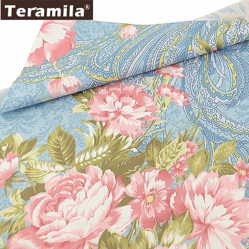 """Small Floral 150cm 60/"""",High Quality Premium Printed Needle Corduroy Red"""