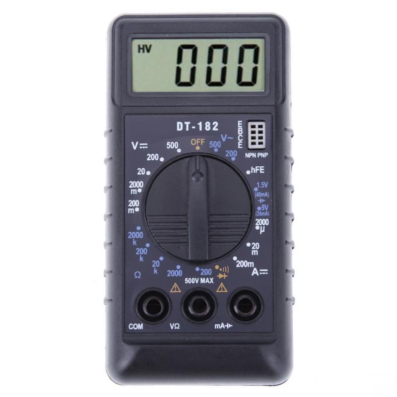 High Impedance Test Voltmeter Schematic
