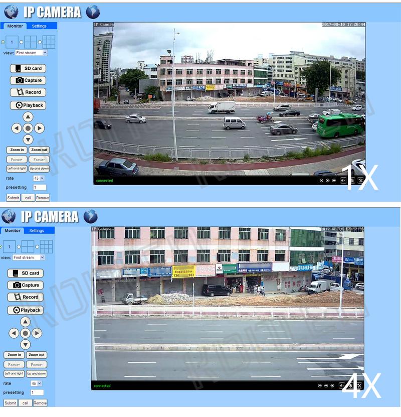 Zoom PTZ outdoor camera 17