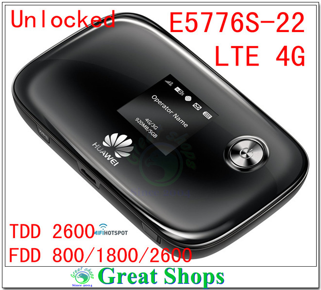 Unlocked Huawei E5776S-22 LTE 4G wifi router mifi mobile Hotspot pk E5776s-32 E5776 E5776s-922 E5776s-601 дневной уход christina step 8b ultimate defense tinted day cream spf20