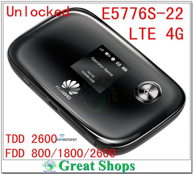 Unlocked Huawei E5776S-22 LTE 4G wifi router mifi mobile Hotspot pk E5776s-32 E5776 E5776s-922 E5776s-601 lori marvel