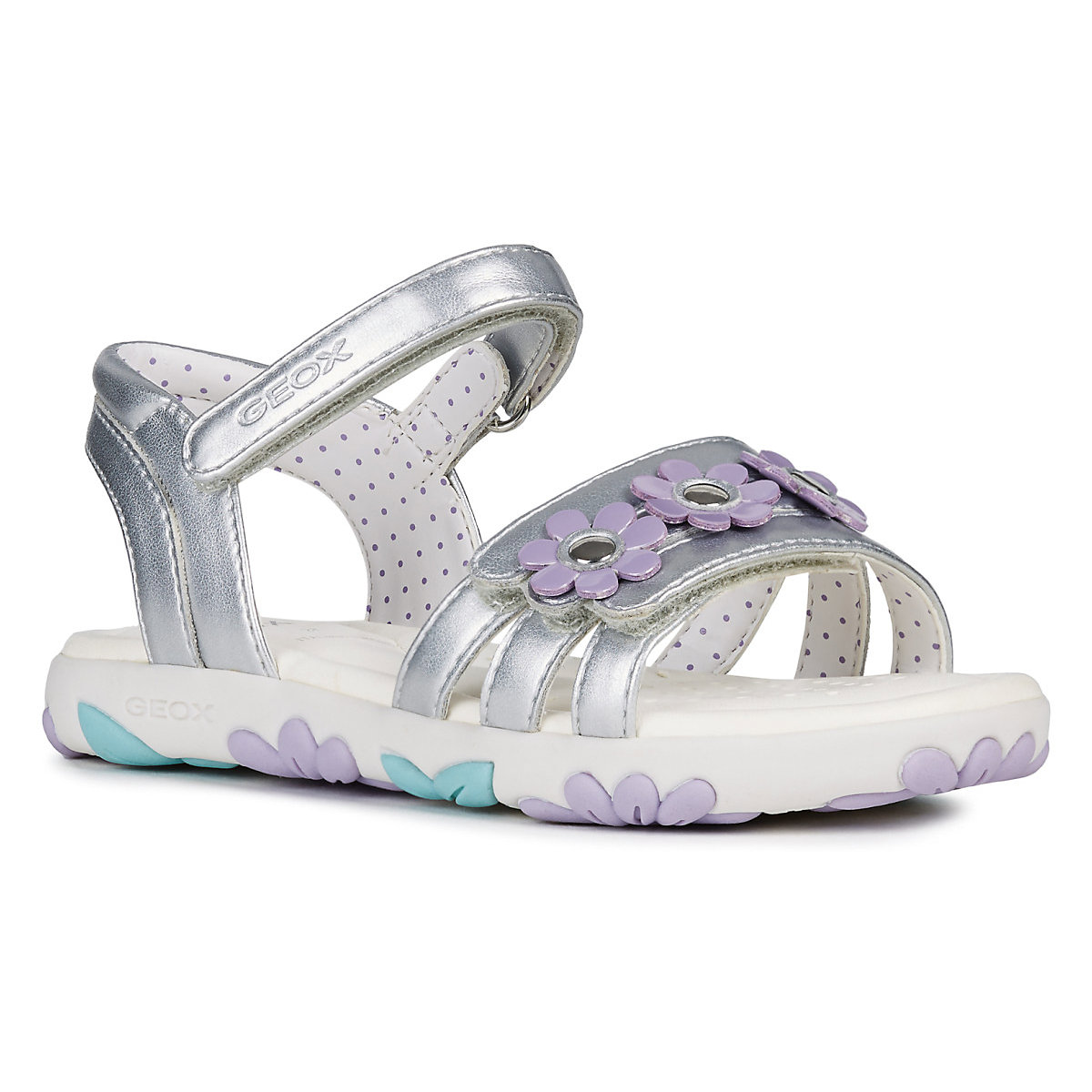 GEOX Sandals 10614415 children's shoes comfortable and light girls and boys gktinoo summer genuine leather women sandals comfortable ladies shoes gladiator sandal women female flat sandals fashion shoe