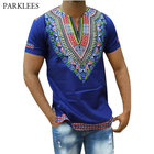 Blue Dashiki T Shirt...