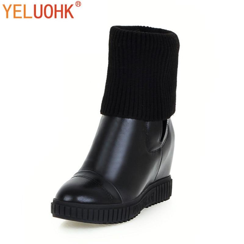 Aliexpress.com : Buy Women Winter Boots Heel Warm Ankle