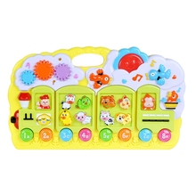 лучшая цена Multifunctional Music Electronic Piano Toy Children's Music Piano