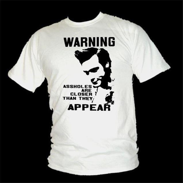 Ace Ventura - avertissement, trous du cul Film CITATION T-Shirt Hommes Printed T Shirt Men Cotton T-Shirt New Style