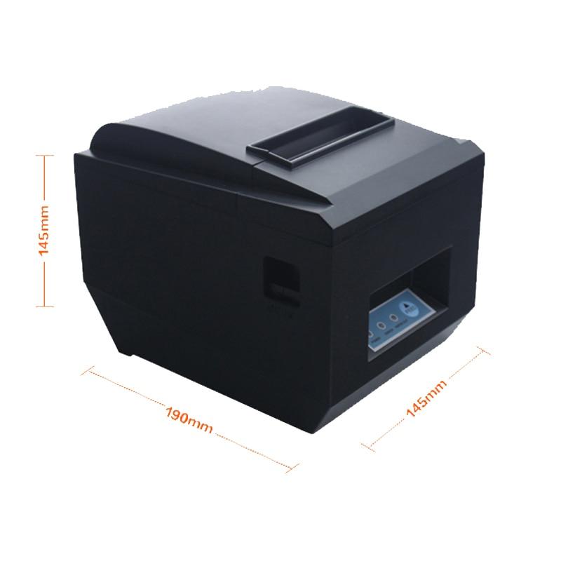 80mm thermal printer 825 receipt printer kitchen restaurant printing CTaHOK with cutter support Ethernet USB port