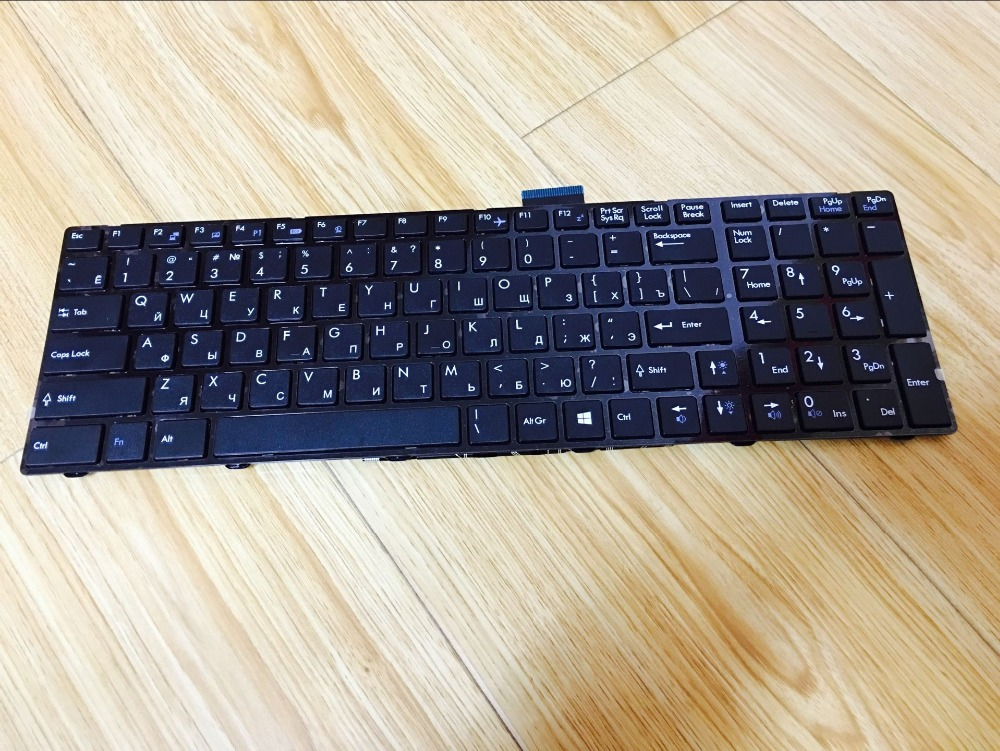 New notebook laptop keyboard for  MSI CX61 CR61 CR70 CX70 GP60 GP70 MS-16GA MS-16GD  Ru/Russian layout