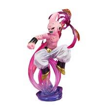 Anime dragon ball z majin buu majin boo pvc figura de ação collectible modelo brinquedo 16cm kt3281