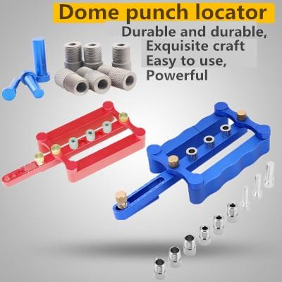 1 set Bois perforateur Localisateur Cheville perforateur Positionneur Trou ouvreur DIY bois outil Punch outil