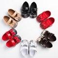 Nueva Moda Bebé Recién Nacido Infantil de Niño de Algodón Barato Princesa de La Muchacha Vestido Del Ballet Zapatos del Pesebre Prewalker 2017 Primavera zapatos de Bebé Suaves