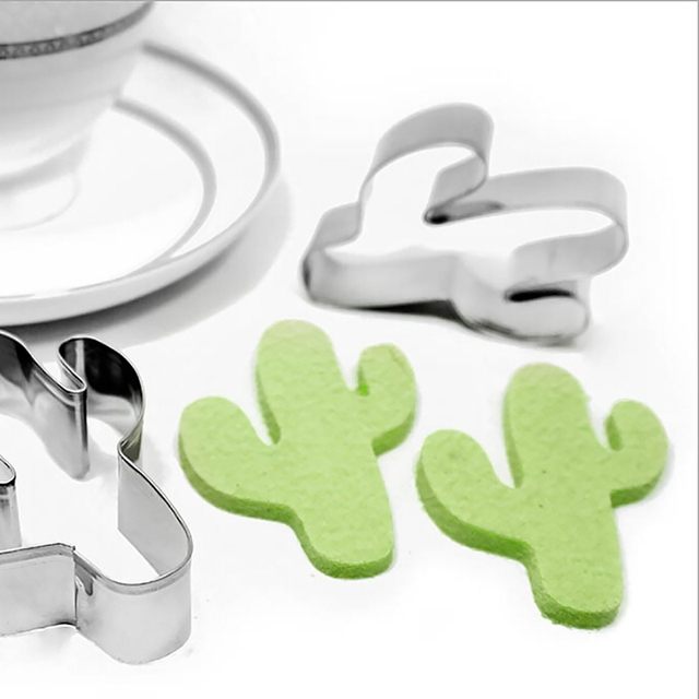 Cactus Metal Cookie Cutter