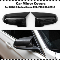 Replacement F22 For BMW 2 series coupe 220i 228i M235i M240i 2014 2018 Mirror covers convertible F23 Side Door Mirror Wing cap
