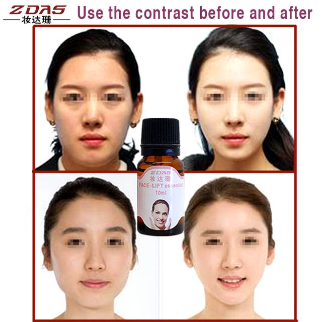 Concealer Face-Lift Essential Oil Firming Powerful V Line Face Lifting  Shaping Slimming Burning Fat Neck Weight Loss Creams