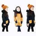 Brand Spring Autumn Girl Hoodies Sweatshirts girls Pocket Kids Clothes Blouse Infantis Minnie Children Clothing ladies Tops