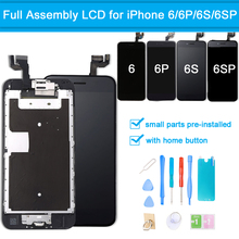 for iPhone 6 / 6 Plus LCD Display Touch Screen Digitizer Full Assembly for iPhone 6S / 6S Plus Screen Replacement Full Set +Tool brand new 5 5 display parts for apple iphone 6s plus lcd screen replacement with tool kits lcd touch screen digitizer assembly