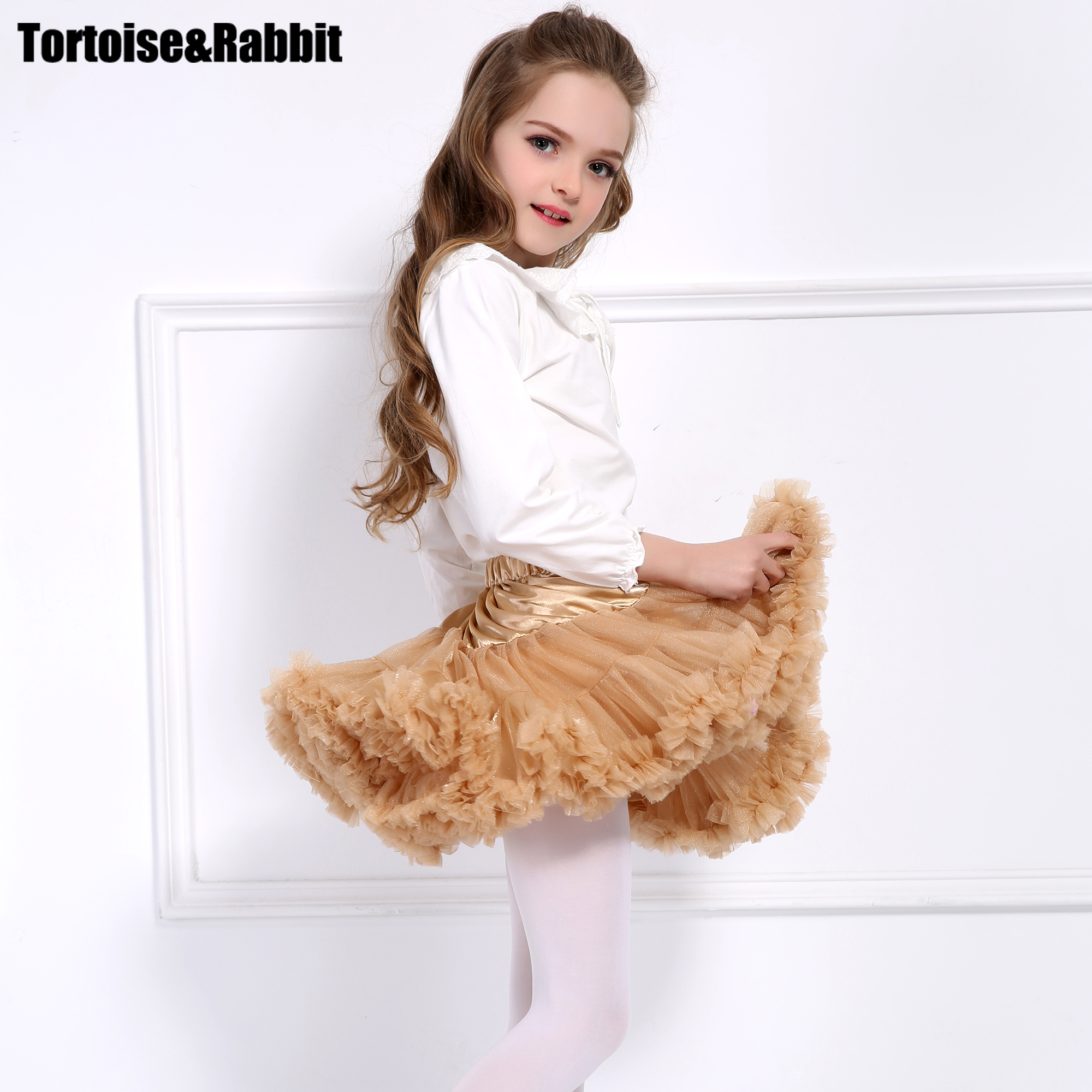 Baby Girls Tutu Skirt Princess Sequins Fluffy Pettiskirt Girl Tutu Skirts Dance Party Skirts Kids Ballet Petticoat Children customized girl blue bird ballet tutu dresses ballet dress design dance tutu best selling anna shi classical spandex stage tutu