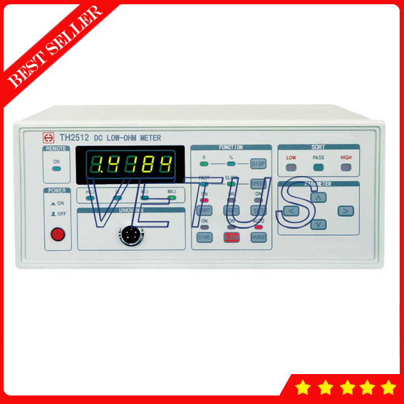 TH2512 High accuracy DC Ohm Meter