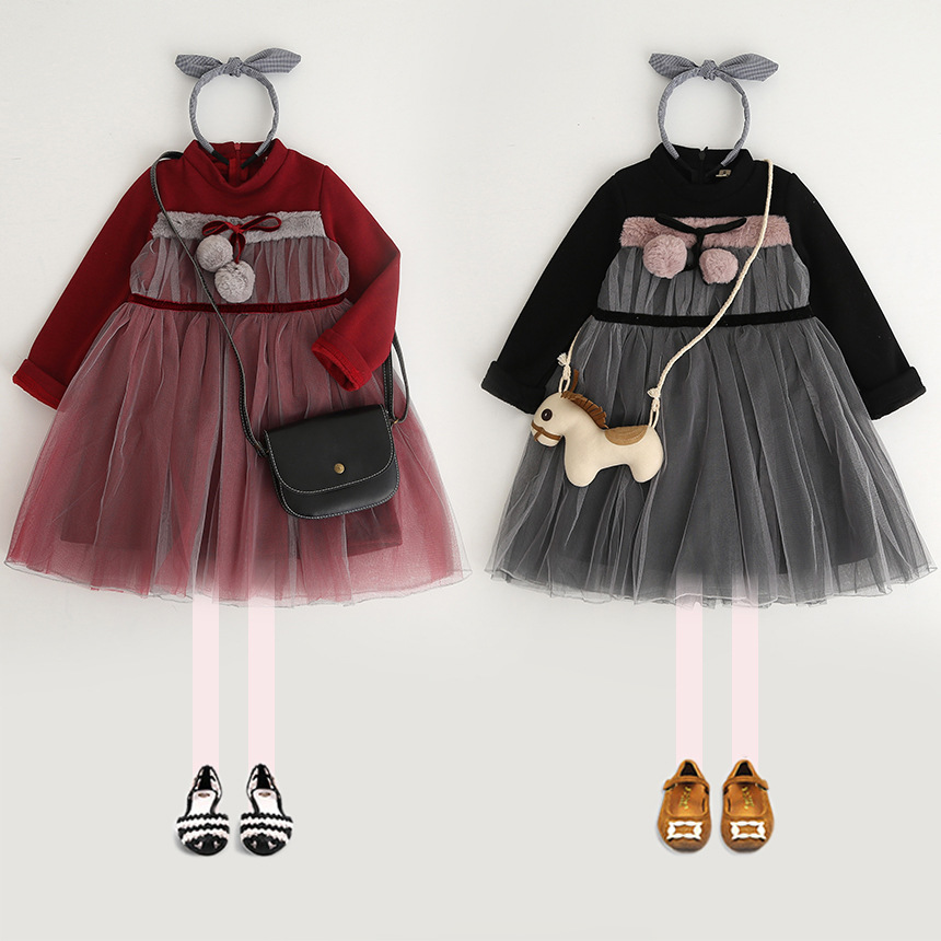 5228 Christmas Princess Tutu Kid Dresses For Baby Girls Winter Warm Children Clothes wholesale baby kids boutique clothing lots купить nokia 5228 в минске