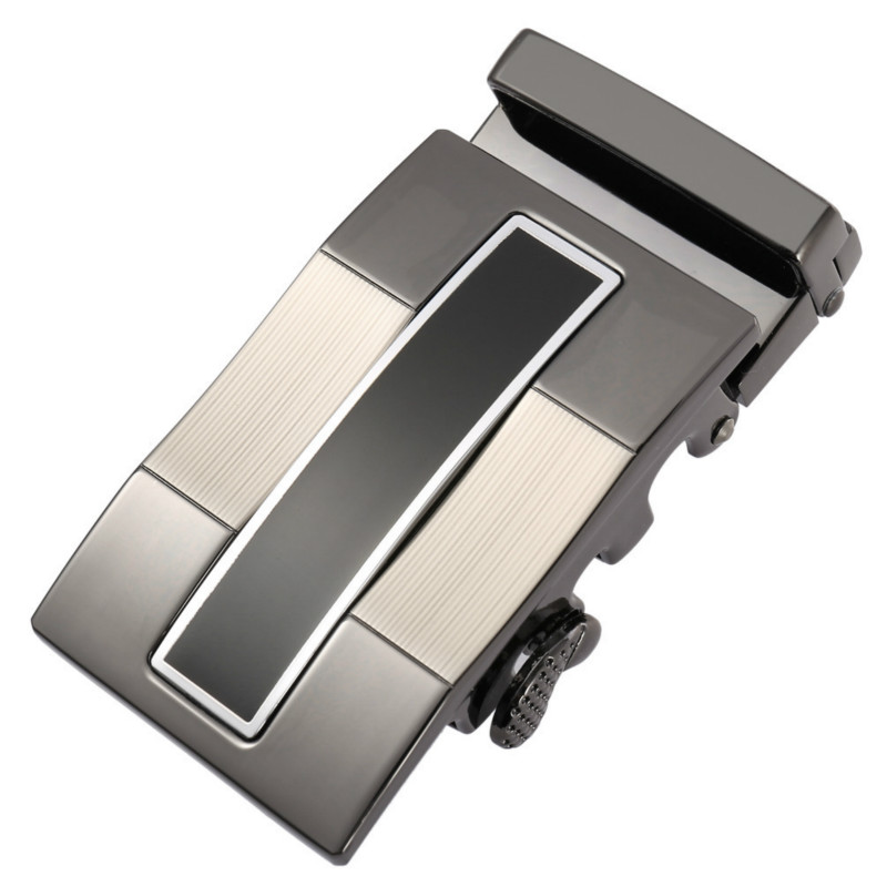 Genuine Men's Belt Head, Belt Buckle,Leisure Belt Head Business Accessories Automatic Buckle Width 3.5CM Luxury Fashion LY186665