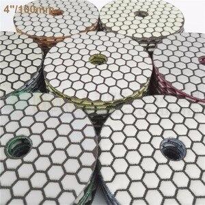 Image 4 - SHDIATOOL 10sets (7pcs/set) Dia100mm/4inches Dry Diamond Polishing Pads 70pcs Resin Bond Diamond Flexible Sanding Disk