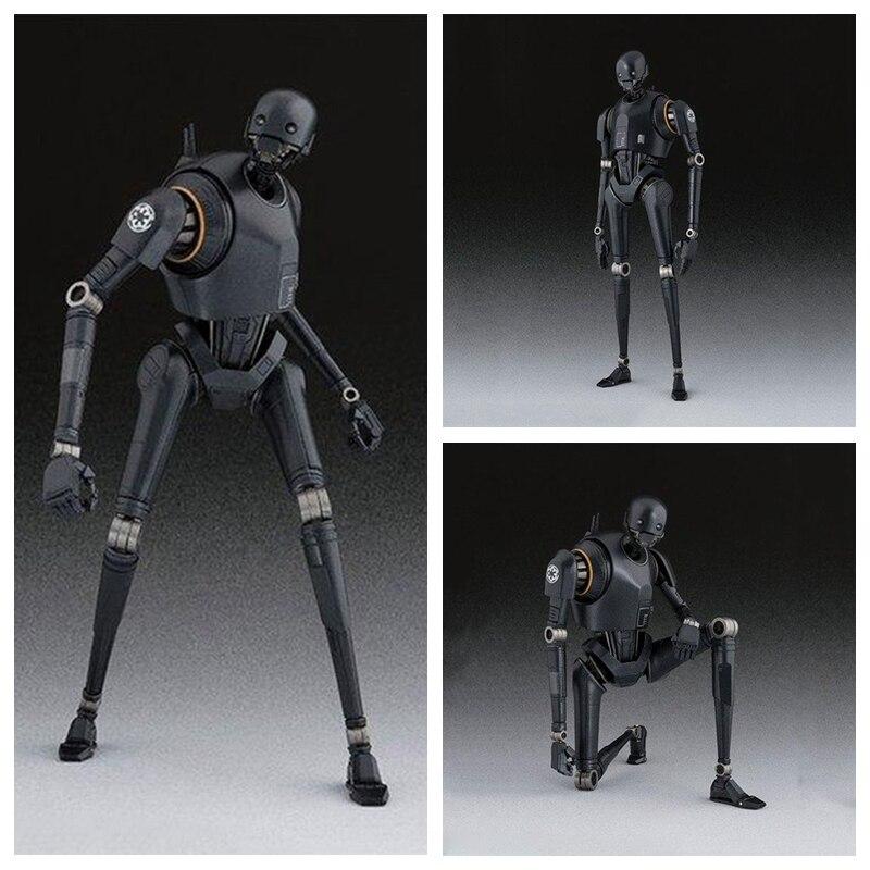 Star Wars Action Figure SHFiguarts – Rogue One K-2SO Darth Maul Jango Fetts Clone Trooper Phase I II