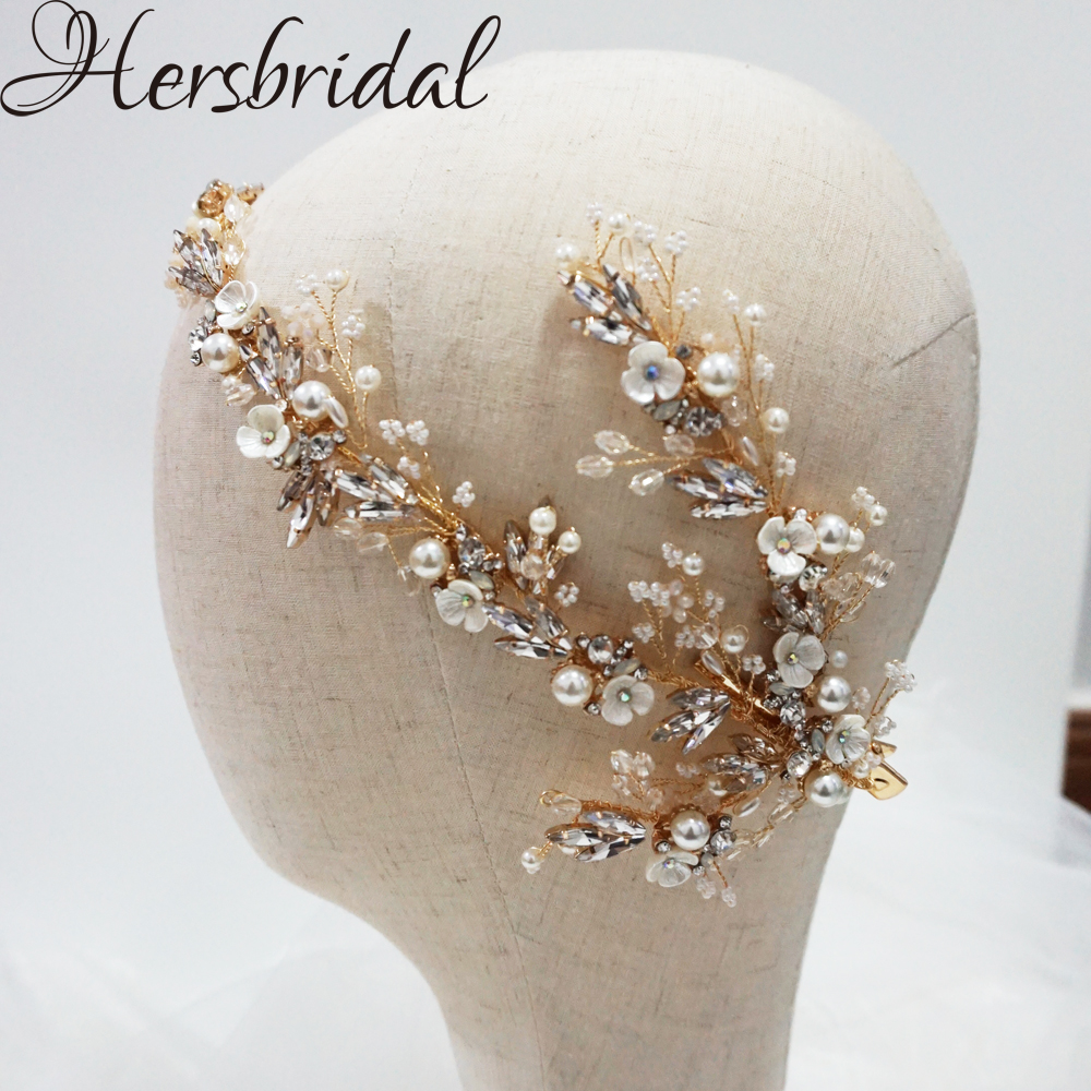 Delicated Flower Bridal Hair Clips Rhinestone And Crystal Headpiece Wedding Handmade Brides Hair Accessories Bridesmaid JewelryDelicated Flower Bridal Hair Clips Rhinestone And Crystal Headpiece Wedding Handmade Brides Hair Accessories Bridesmaid Jewelry