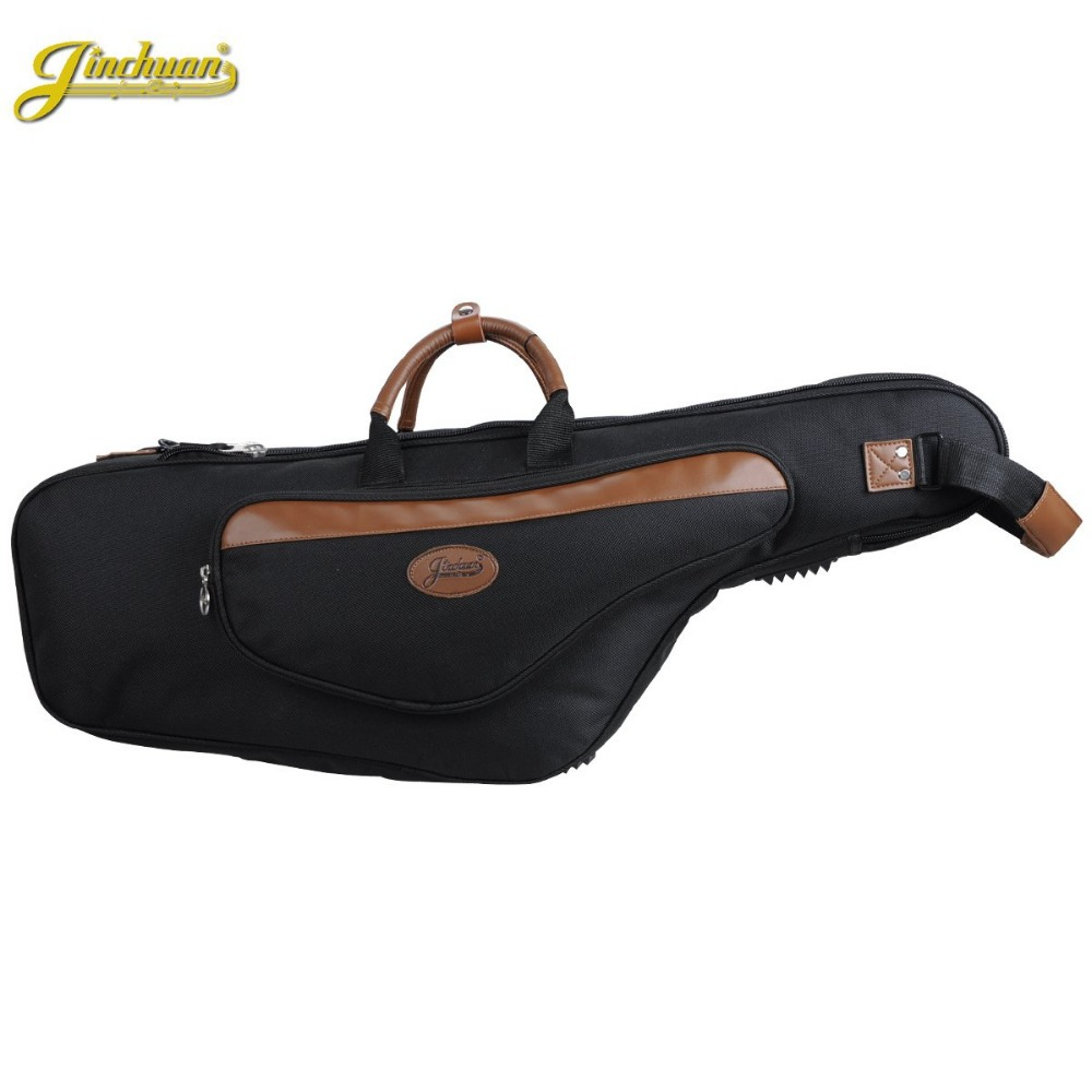 wholesaleProfessional  Portable Luxurious Tenor B flat Alto Saxophone Gig Bags Case Cover Waterproof package Durable soft padded 2 pcs of new tenor trombone gig bag lightweight case black